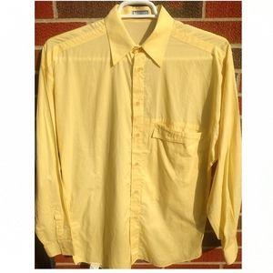 Gianni Versace men's size 46 button down shirt